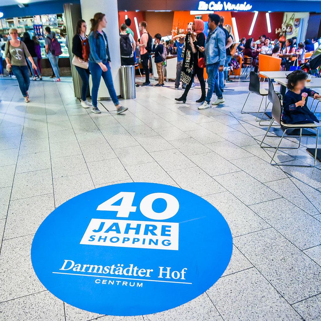 40 Jahre Jubiläum Darmstädter Hof Centrum Heidelberg