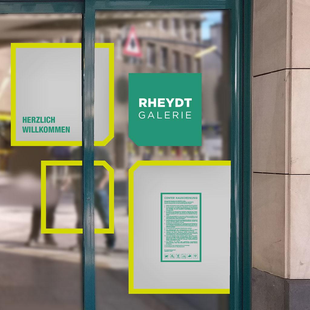 Corporate Design Rheydt Galerie