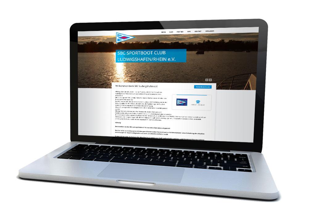 Website SBC Ludwigshafen/Rh.