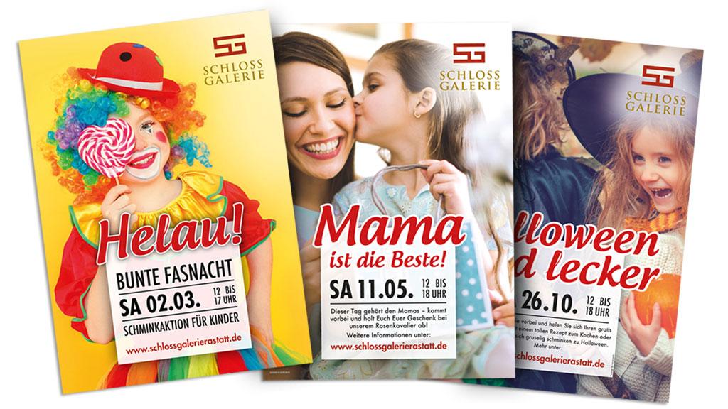 Plakatkampagne SchlossGalerie Rastatt