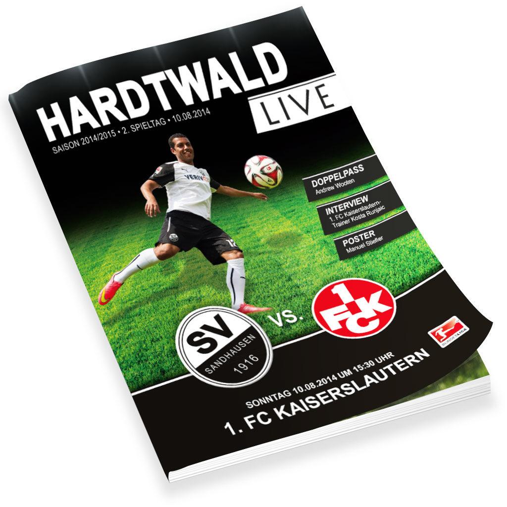 Stadionzeitschrift SV Sandhausen1916 e.V.
